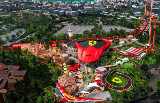 Ferrari Land In Spain
