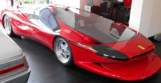 Unique Ferrari Testa D'Oro Colani At Auction