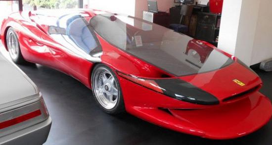 Ferrari Testa D'Oro Colani