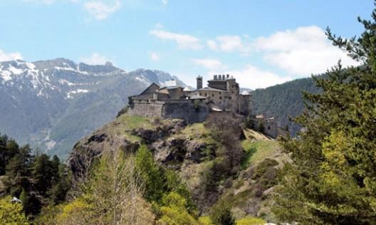 Fort Queyras And Queyras Castle