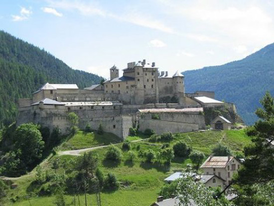 Fort Queyras And Queyras Castle