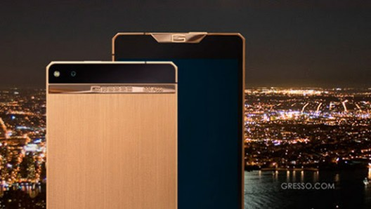 Smartphone Gresso Regal Gold