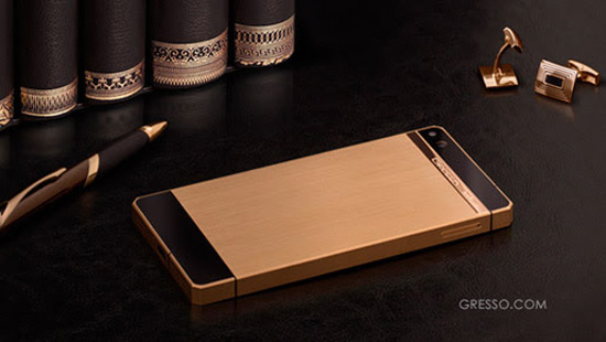 Smartphone Gresso Regal Gold