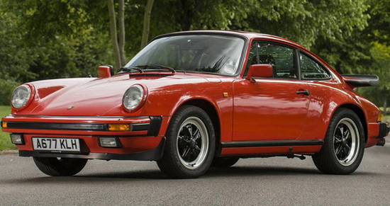 James May Porsche 911 Carrera 3.2 Coupe