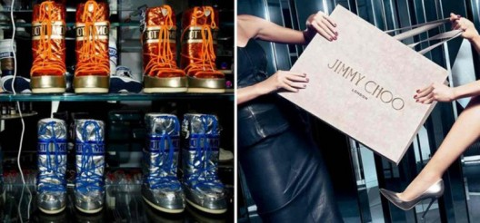 Jimmy Choo Teamed Up With Moon Boot