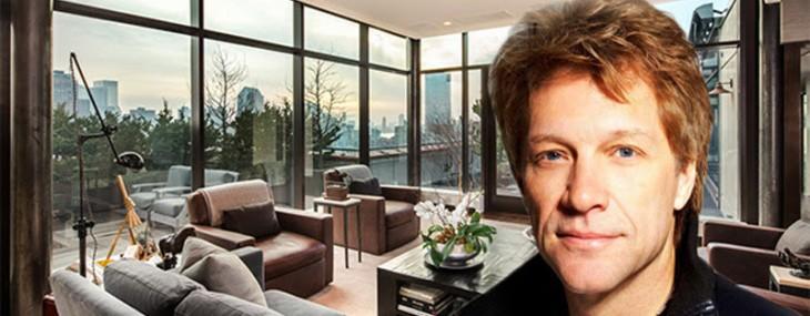 Jon Bon Jovi's Mercer Street Penthouse