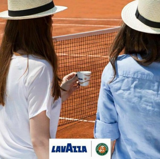 Lavazza Is The Official Coffee Of The Roland Garros