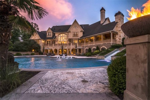 Luxury Mansion Near Atlanta Ga On Sale For 3 5 Million