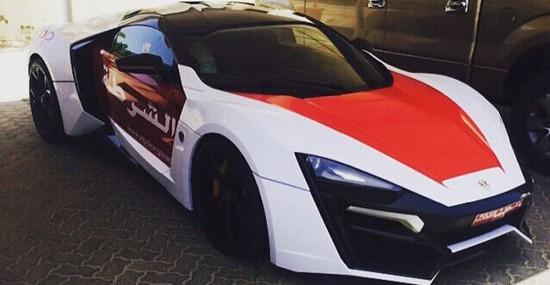 Lykan HyperSport – New Member of Abu Dhabi Police's Fleet