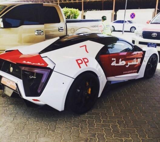 Dubai Police Lykan HyperSport