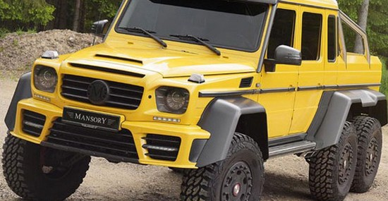 Mansory Mercedes G63 AMG 6×6 With 840HP