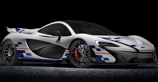 McLaren P1 Prost Special Edition At Goodwood Festival Of Speed