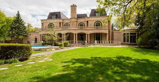 Most Expensive Home in Manitoba Lists for $11-Million CAD