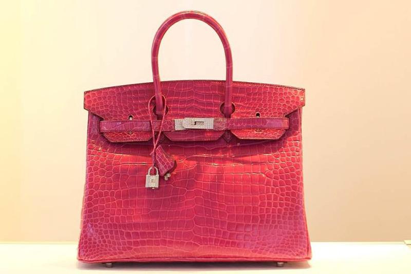 Pink Hermes Birkin Bag Sold For $223,000 at Auction