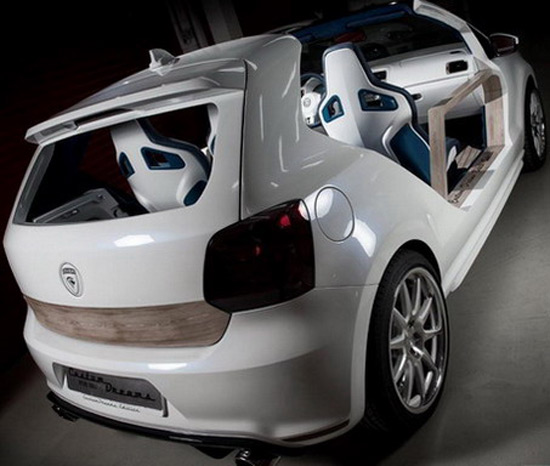 custom vw polo gti car interior design. Black Bedroom Furniture Sets. Home Design Ideas