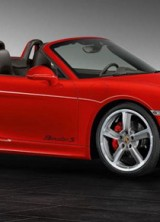 Porsche Exclusive Boxster S Guards Red Roadster