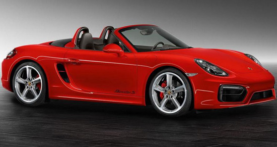 Porsche Exclusive Boxster S Guards Red