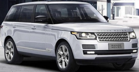 Special Range Rover Hybrid LWB For The Queen