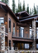 Newly Constructed Ski-in/ski-out Mountain Retreat at Auction