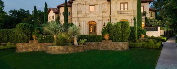 Texas' Highland Park Estate On Sale For $15.985 Million