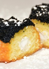 A $125 gourmet Twinkie that is drenched in caviar