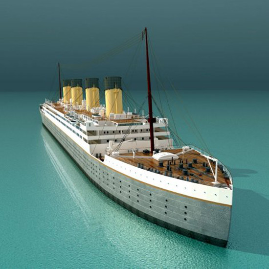 Only In China Construction Of Titanic Replica Worth 130