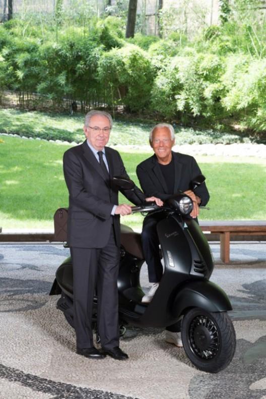 Giorgio Armani Launches Original Vespa 946 For 40th Anniversary