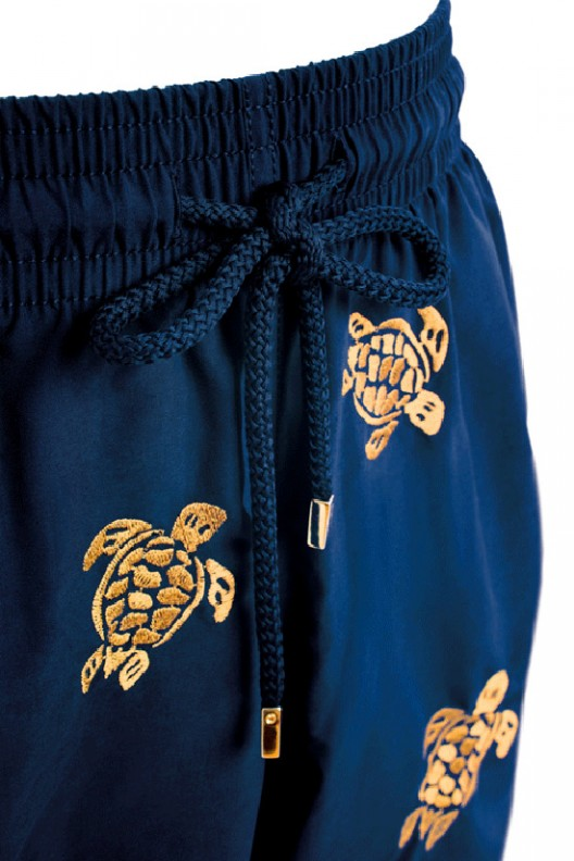 Vilebrequin's Golden Turtle Swim Trunks