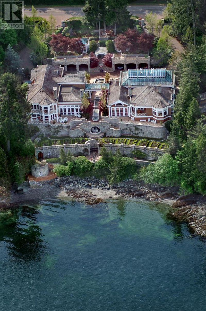 Vancouver Island's 'Villa Madrona' Back On The Market for $9.5-Million