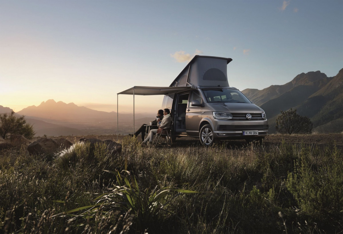 Glamping In Style With Volkswagen California