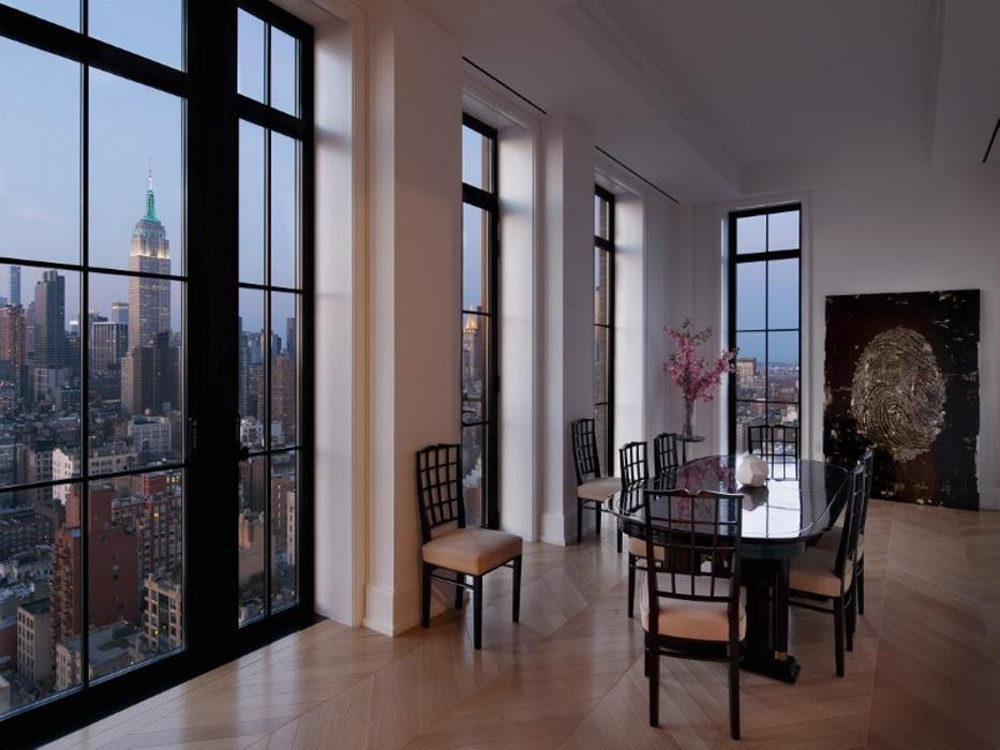 Walker tower penthouse up for sale again extravaganzi for Penthouses for sale in manhattan