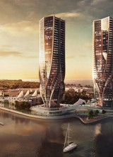 Zaha Hadid Designs Two Sinuous Towers For Australia's Gold Coast