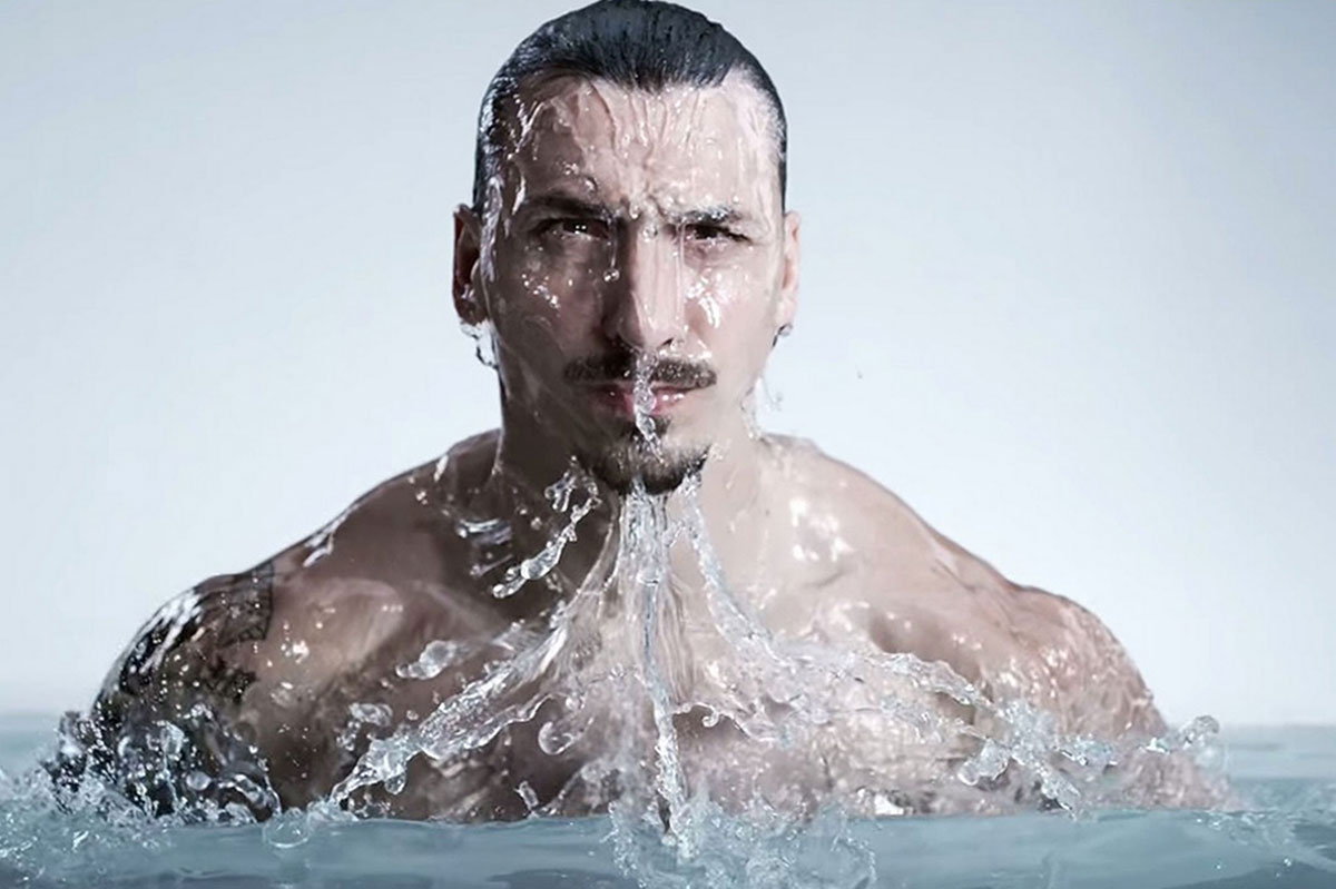 Zlatan Ibrahimovic will not be the first footballer to have his own fragrance
