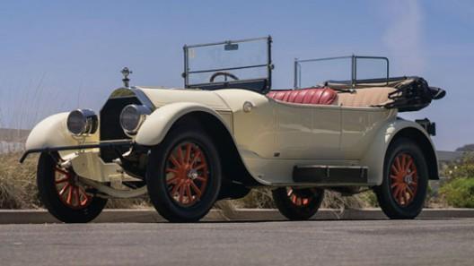 1917 Pierce-Arrow Model 48B Series 4 Four-Passenger Touring