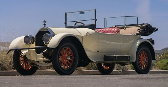 1917 Pierce-Arrow Model 48B Series 4 Four-Passenger Touring At Auction