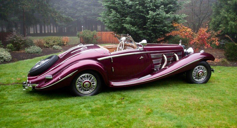 1938 Mercedes Benz 540k Special Roadster By Nawrocki At