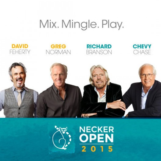 Be Part Of the 2015 Necker Open Pro-Am Golf Event at Sea Island & Necker Island