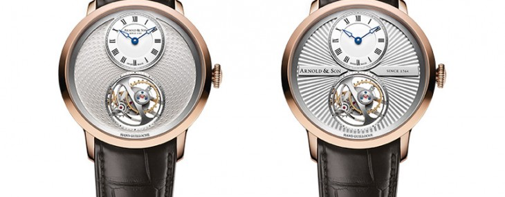 Arnold & Son's Two New References Of Ultra-thin Tourbillon