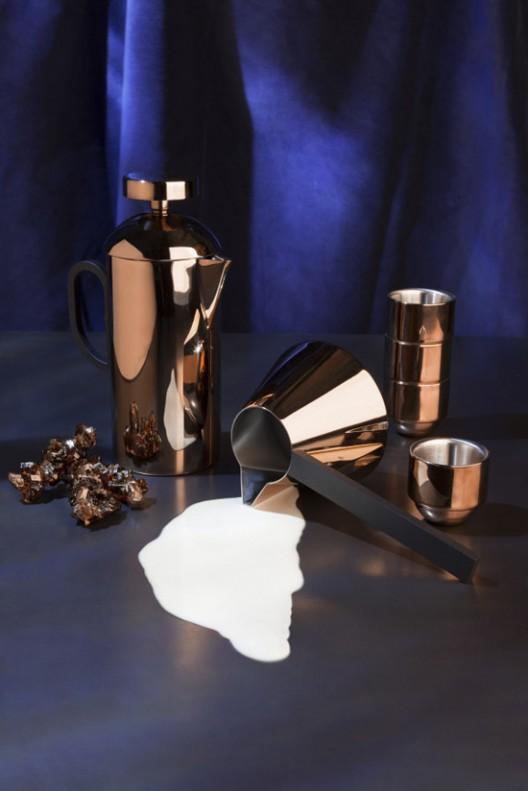 Brew - Tom Dixon's Copper-covered Coffee Set