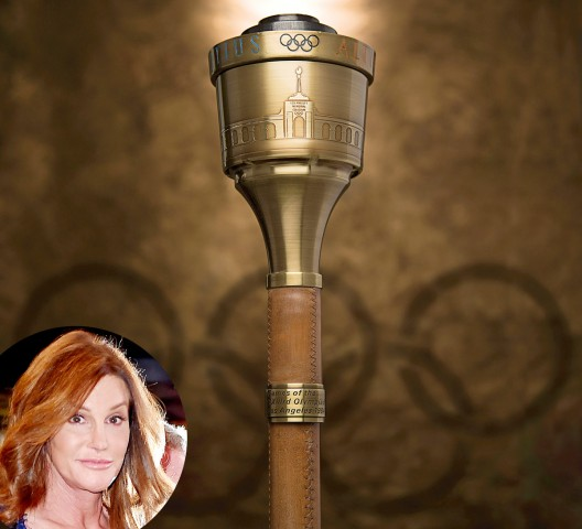 Caitlyn (Bruce) Jenner Olympic Torch Goes Under The Hammer