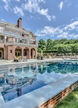 Exquisite Custom Brick Manor By David Simonini On Sale For $4.15 Million
