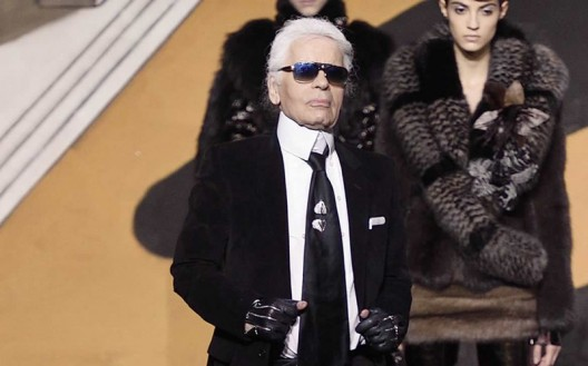 Fendi's First Haute Couture Collection By Karl Lagerfeld