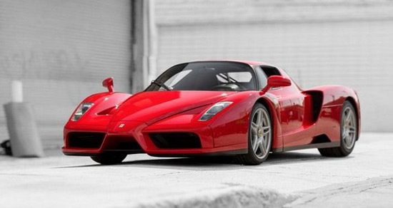 Ferrari Enzo Made for the Pope