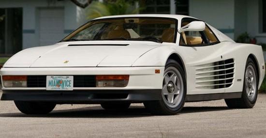 Ferrari Testarossa From 'Miami Vice' Is For Sale