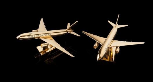 Take Flight In Goldgenie's New 24k Gold Embellished Model Airplanes