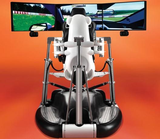 Hammacher-Schlemmer Racing Simulator Will Cost You $185,000