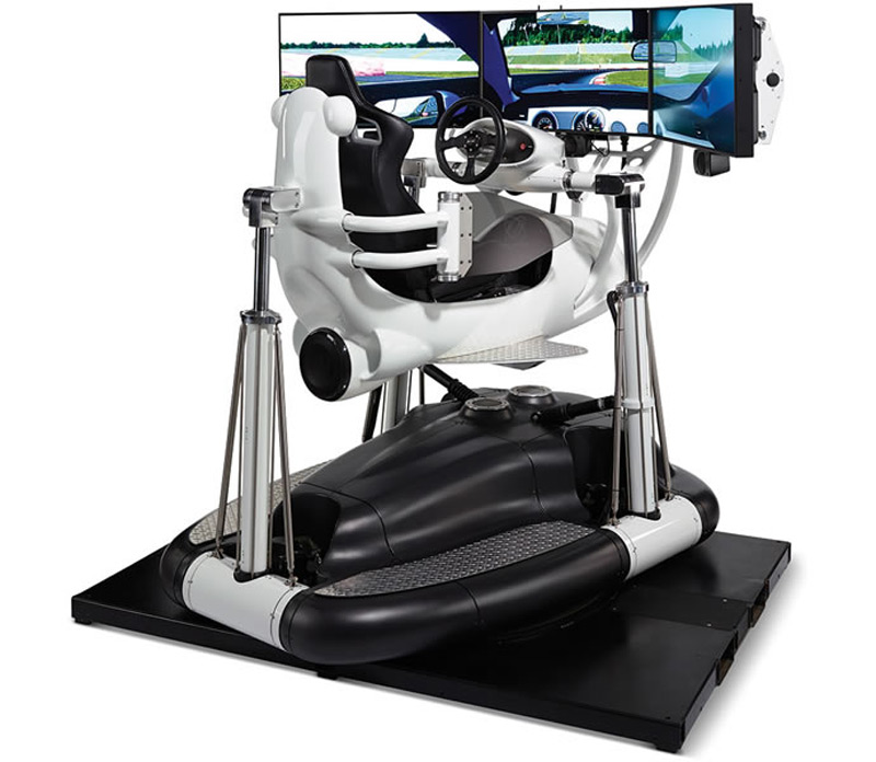 Hammacher-Schlemmer Racing Simulator Will Cost You $185,000