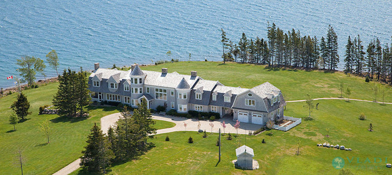 57-Acre Island Paradise Lists In Nova Scotia For $6.95-Million