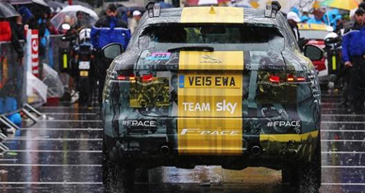 Jaguar Team Sky Tour de France New Color Scheme for F-Pace