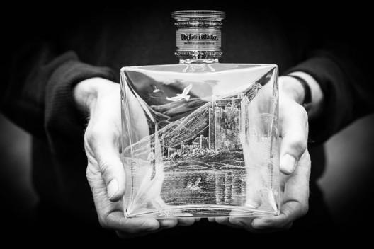 Johnnie Walker & Philip Lawson Johnston Limited Edition Engraved Luxury Bottles